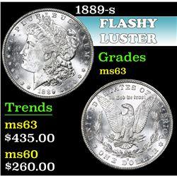 1889-s . . Morgan Dollar $1 Grades Select Unc
