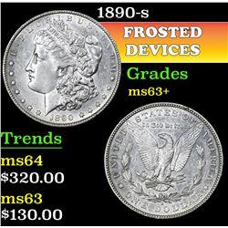 1890-s . . Morgan Dollar $1 Grades Select+ Unc