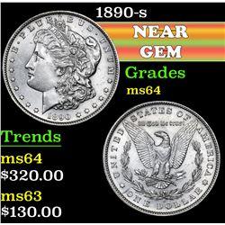 1890-s . . Morgan Dollar $1 Grades Choice Unc