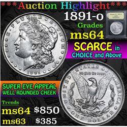 1891-o . . Morgan Dollar $1 Grades Choice Unc
