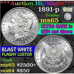 1891-p . . Morgan Dollar $1 Grades GEM Unc