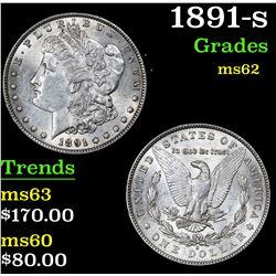 1891-s . . Morgan Dollar $1 Grades Select Unc