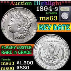 1894-s . . Morgan Dollar $1 Grades Select Unc