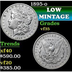 1895-o . . Morgan Dollar $1 Grades vf++