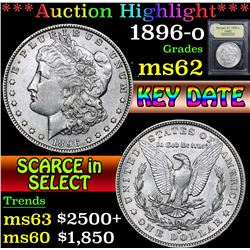 1896-o . . Morgan Dollar $1 Grades Select Unc