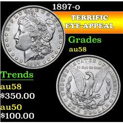 1897-o . . Morgan Dollar $1 Grades Choice AU/BU Slider