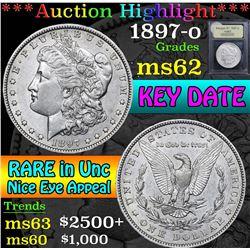 1897-o . . Morgan Dollar $1 Grades Select Unc