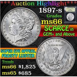 1897-s . . Morgan Dollar $1 Grades GEM+ Unc