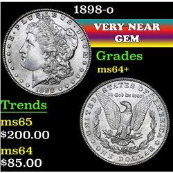 1898-o . . Morgan Dollar $1 Grades Choice+ Unc