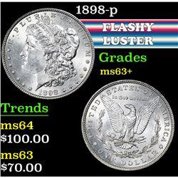 1898-p . . Morgan Dollar $1 Grades Select+ Unc