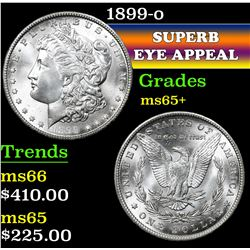 1899-o . . Morgan Dollar $1 Grades GEM+ Unc