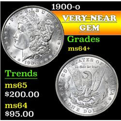 1900-o . . Morgan Dollar $1 Grades Choice+ Unc