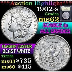 1902-s . . Morgan Dollar $1 Grades Select Unc