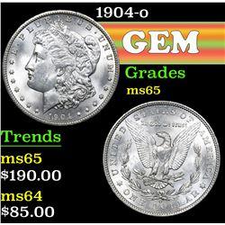 1904-o . . Morgan Dollar $1 Grades GEM Unc