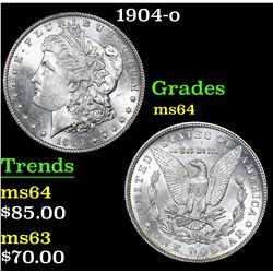 1904-o . . Morgan Dollar $1 Grades Choice Unc