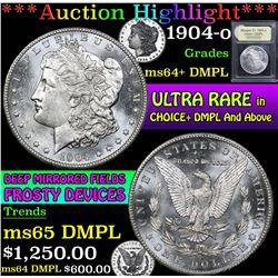 1904-o . . Morgan Dollar $1 Grades Choice Unc+ DMPL