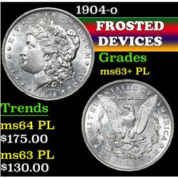 1904-o . . Morgan Dollar $1 Grades Select Unc+ PL