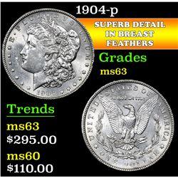 1904-p . . Morgan Dollar $1 Grades Select Unc