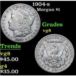 1904-s . . Morgan Dollar $1 Grades vg, very good