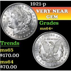1921-p . . Morgan Dollar $1 Grades Choice+ Unc