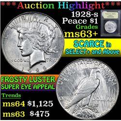 1928-s . . Peace Dollar $1 Grades Select+ Unc