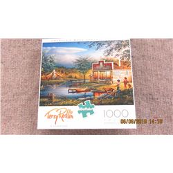 """LIKE NEW - 1000 PIECE """"SUMMERTIME"""" PUZZLE"""