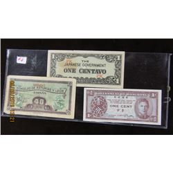 ITALY, JAPANESE & HONG KONG SET OF COLLECTABLE CURRENCY BANK NOTES