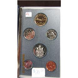 1990 CANADA SPECIMEN MINT COIN SET