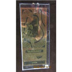 1/10 GRAM 24 KARAT PURE GOLD AURUM NOTE