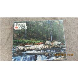 """LIKE NEW - 1000 PIECE """"ROYAL"""" PUZZLE"""