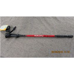 NEW - RED EXTENDIBLE WALKING STICK