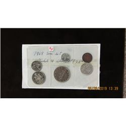 1968 UNCIRCULATED NICKLE AND SILVER COIN SET