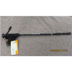 NEW - BLACK EXTENDABLE WALKING STICK
