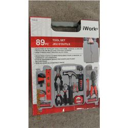 NEW - 89 PIECE WORK TOOL SET