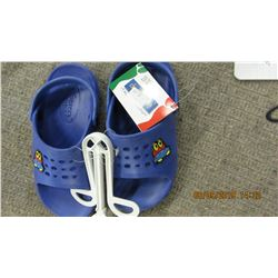 NEW - DEFONSECA (ITALY) KIDS BLUE SANDALS WITH SPACESHIP
