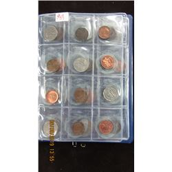 ALBUM OF 48 KING GOERGE V, VI, AND QUEEN ELIZABETH COLLECTIBLE COINS