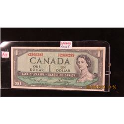 1954 BANK OF CANADA BANK NOTE
