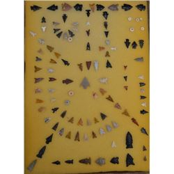 ANASAZI INDIAN ARROWHEADS AND SHELL BEADS
