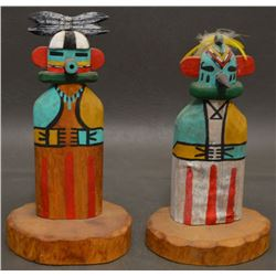 HOPI INDIAN KACHINAS  (ALVIN JAMES)