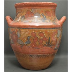 MEXICAN POTTERY JAR
