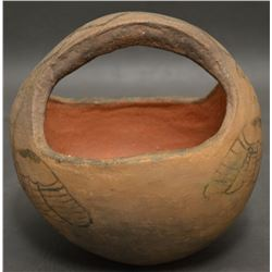 SAN FELIPE INDIAN POTTERY BOWL ( CANDELARIA MONTAÑO)
