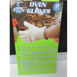 1 Pair of New Oven Gloves/Ove Glove - excellent for BBQ & Camping