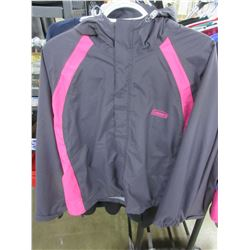New Coleman Women's Rain Jacket with Hood / size S - M