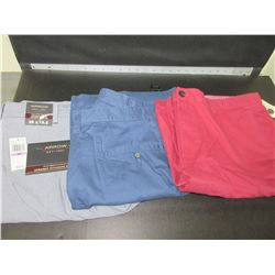 3 New pairs of Women's casual Shorts size 38