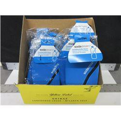 Box full of 18 Soda Stream Insulating Bottle Sleeves