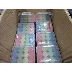 9 packs of Sidewalk Chalk / 12 jumbo chalk per pack / assorted colors
