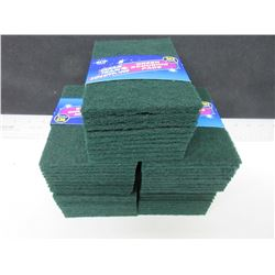 5 packs of Scouring Pads - 10 per pack