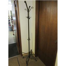 Metal Pole Coat Rack -  No Shipping