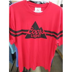 Coors Light T -Shirt size Large