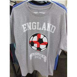 England Soccer T - Shirt size Large
